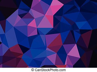 青, カラフルである, 抽象的, 背景, 幾何学的, 3d