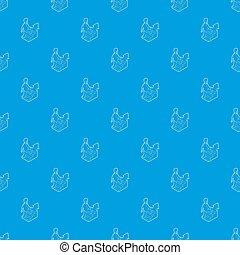 青, キャリア, パターン, はしご, の上, seamless, 動くこと, ビジネスマン