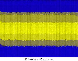 青, キャンバス, 壁, 抽象的, 黄色, 木手ざわり, 背景