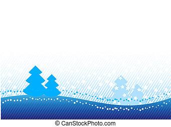 青, クリスマス