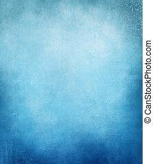 青, グランジ, 型, 抽象的, 暗い, 優雅である, bac, 背景