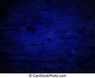 青, グランジ, 抽象的, 手ざわり, 暗い, ペーパー, 背景, ∥あるいは∥