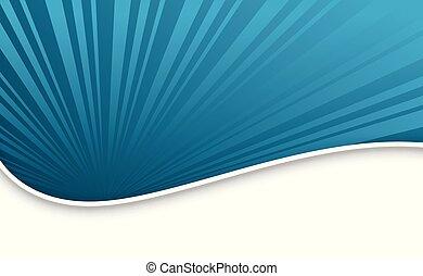 青, スタイル, 光線, ビジネス, 動き, 優雅である, 背景