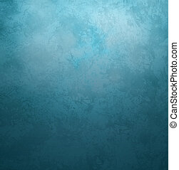 青, スタイル, 古い, 型, 暗い, ペーパー, レトロ, 背景, グランジ
