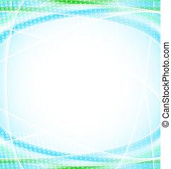 青, テンプレート, 抽象的なデザイン, 背景, あなたの
