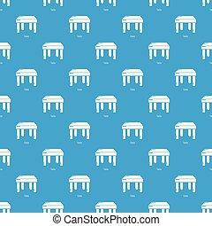 青, テーブル, ベクトル, seamless, パターン