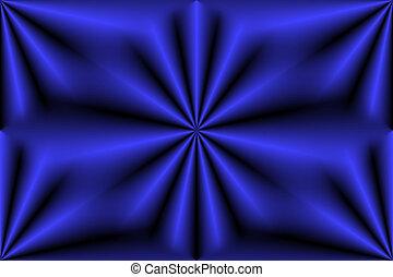 青, デジタル, 花
