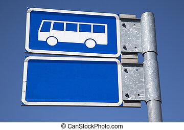 青, バス, 印