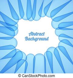 青, バックグラウンド。, 抽象的
