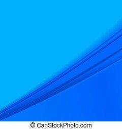 青, バックグラウンド。, 抽象的, ベクトル, イラスト