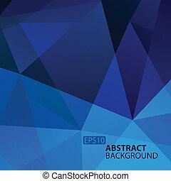 青, バックグラウンド。, 抽象的, 幾何学的