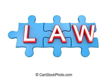 青, パズル, law., 単語