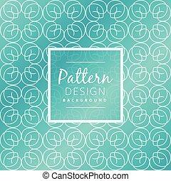 青, パターン, 抽象的なデザイン