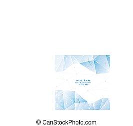 青, ビジネス, 抽象的, pattern., 水晶, デザイン
