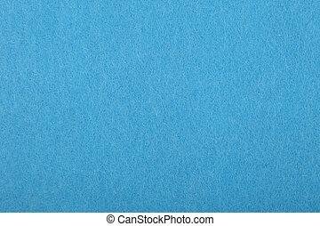 青, フェルト, 背景, 手ざわり, 終わり