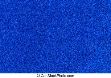 青, フェルト, 自然, 手ざわり, ∥ために∥, バックグラウンド。