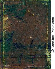 青, ブラウン, 古い, 抽象的, パターン, 黄色, 背景, textured, 緑, 背景, leather: