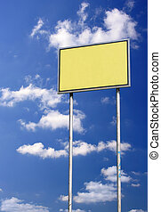 青, ブランク, 空, に対して, 印