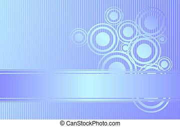 青, ベクトル, 光沢がある, 背景