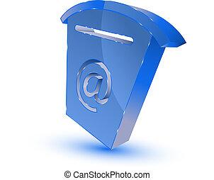 青, メールボックス