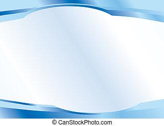 青, モザイク, 抽象的, モザイク, 背景