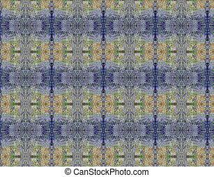 青, ライラック, グランジ, 型, パターン, 壁紙, 背景