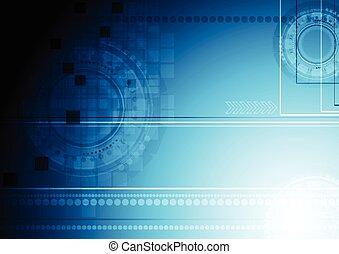 青, 光沢がある, 技術, 背景
