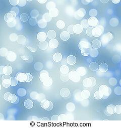 青, 円, 背景, 媒体, 社会, bokeh, テンプレート, ライト