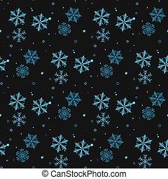 青, 円, eps10, 冬, dots., すみれ, pattern., seamless, 新しい, theme., 飾られる, バックグラウンド。, ベクトル, デザイン, 雪片, 年, 黒, 微笑, クリスマス, 幸せ