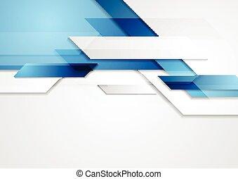 青, 動き, 光沢がある, hi-tech, 背景