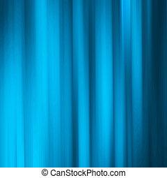 青, 動き, 抽象的, 背景