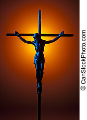 青, 十字架像