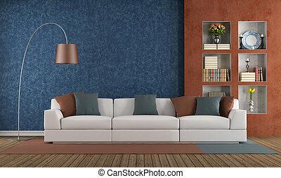 青, 反響室, オレンジ