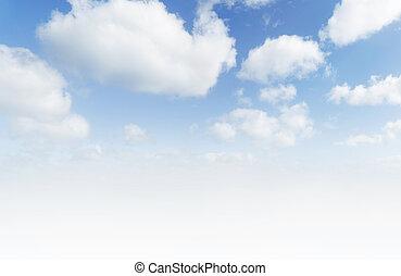 青, 大きい空
