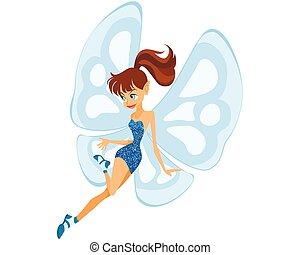 青, 妖精, 若い