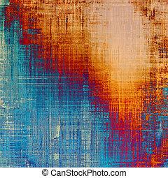 青, 学校, (orange);, 古い, バックグラウンド。, 色, 別, 黄色, (beige);, brown;, textured, patterns:, 赤