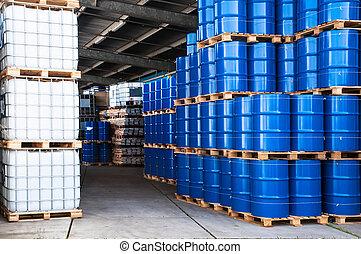 青, 容器, ドラム
