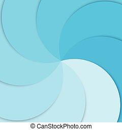 青, 層, スペース, テキスト, カーブ, 重複, ペーパー, ベクトル, 背景, 線