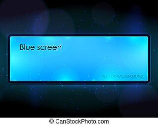 青, 広告板
