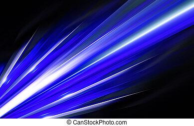 青, 抽象的, コンピュータ, デザイン, 背景