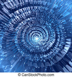 青, 抽象的, デジタルバックグラウンド