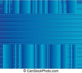 青, 抽象的, ベクトル, ライン, ビジネス