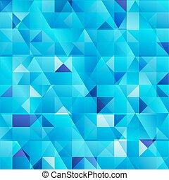 青, 抽象的, 三角形, 背景