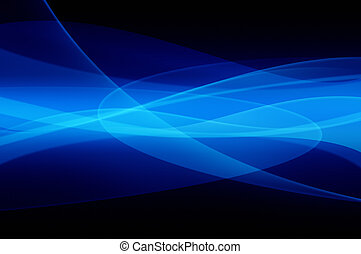 青, 抽象的, 反射, 手ざわり