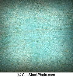青, 抽象的, 古い, 背景, 手ざわり