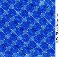 青, 抽象的, 幾何学的, 背景