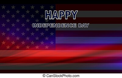 青, 抽象的, 暗い, 旗, デザイン, アメリカ