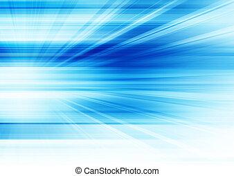 青, 抽象的, 未来派, 背景