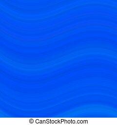 青, 抽象的, 滑らかである, 波, デザイン, 背景