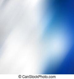 青, 抽象的, 滑らかである, 背景